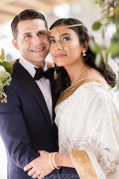 Bride Deepa & Mark - Bridal Makeovers by Aradia