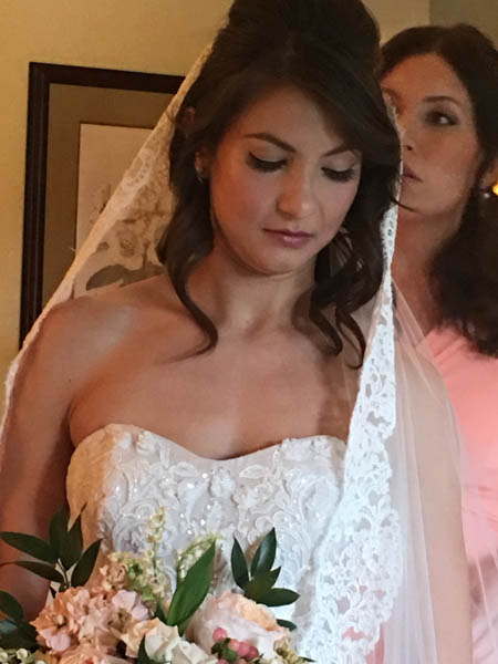 Bride Michelle - Bridal Makeup at the Brazilian Court