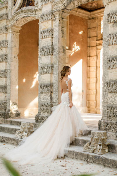 Opulent & Romantic Vizcaya Wedding Bridal Makeup Look - Bride Charisse