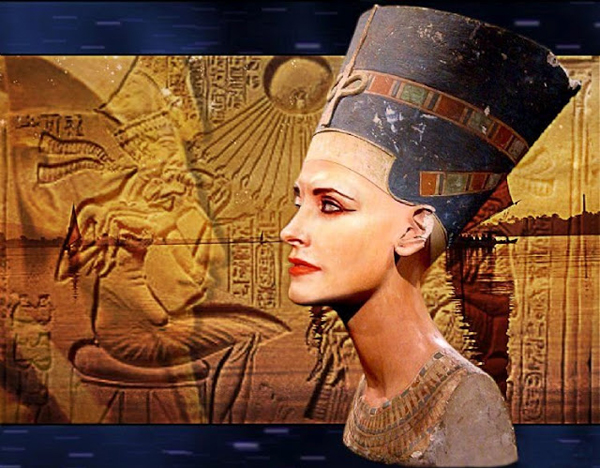 Queen Nefertiti's eye makeup was believed to have healing powers