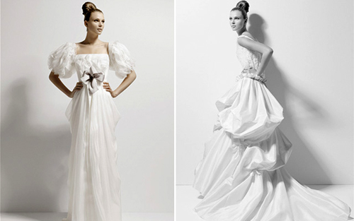 Jesus del Pozo - The entire collection is quite artful and has an avant-garde feel