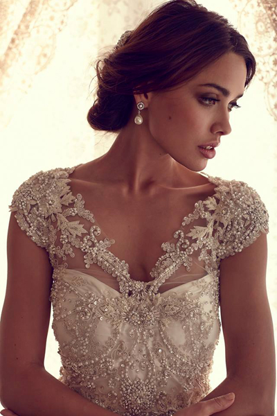 We love the classic bride because its what we all know and love!