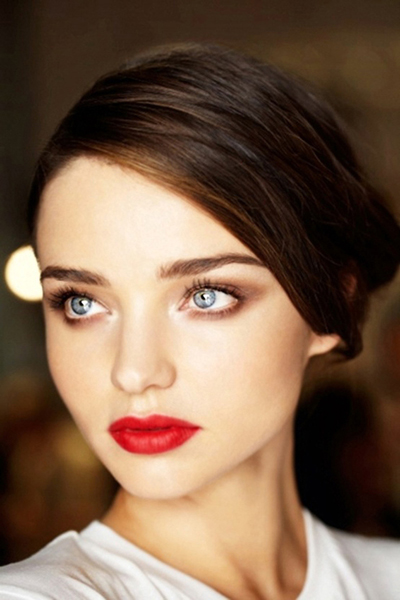 Bridal lips this season are all about deep red wines and rich berry.