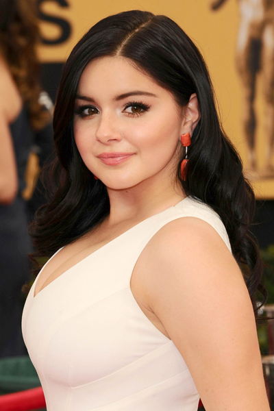 Love the long, lush lashes worn by Ariel Winter.