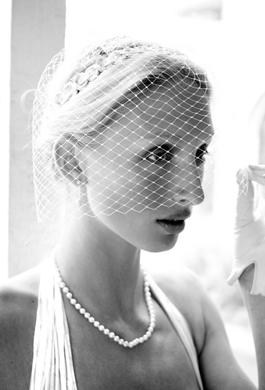 Bride Fashion Model (Black & White) 08