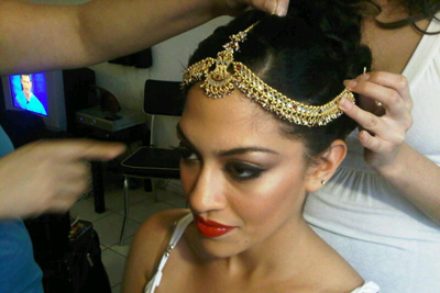 Real Brides Getting Ready - Makeup by Aradia